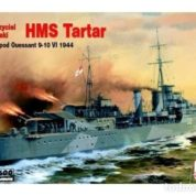 Mistercraft 1/600 HMS Tartar Plastic Model Kit A-301