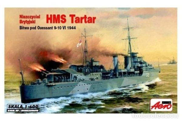 Mistercraft 1/600 HMS Tartar Plastic Model Kit A-301