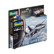 REVELL MODEL SET F-14D SUPER TOMCAT 1:100 63950