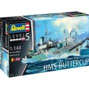REVELL FLOWER CLASS CORVETTE HMS BUTTERCUP 1:144 05158