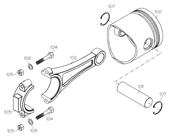 F7102 (YS ENGINE PART) CYLINDER HEAD/LINER FZ110