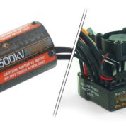 540 BRUSHLESS CONVERSION SET: 3500kv MOTOR & 30A WATERPROOF ESC