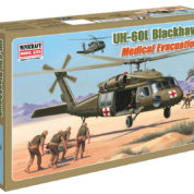 1/48 UH-60L BLACKHAWK MEDIVAC MINICRAFT Plastic Model Kit (11644)
