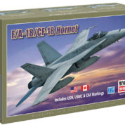 1/72 F/A-18 CF-18 HORNET MINICRAFT Plastic Model Kit (11652)