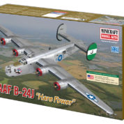 1/72 B-24H J USAAF MINICRAFT Plastic Model Kit (11665)