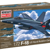 1/144 F-18 US NAVY CENTENNIAL MINICRAFT Plastic Model Kit (11673)