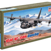 1/144 AC-130H USAF HERCULES MINICRAFT Plastic Model Kit (14537)