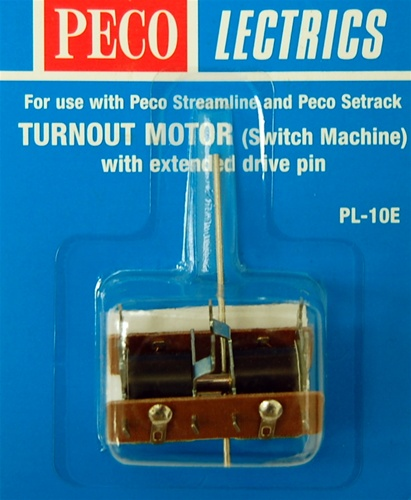 PECO PL10E POINT MOTOR EXTENDED PIN