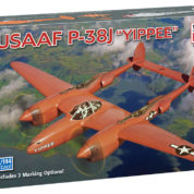 1/144 P-38J USAAF MINICRAFT Plastic Model Kit (14668)