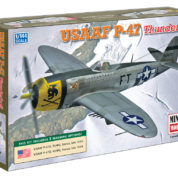 1/144 P-47D USAAF MINICRAFT Plastic Model Kit (14670)