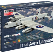 1/144 AVRO LANCASTER RAF MINICRAFT Plastic Model Kit (14689)