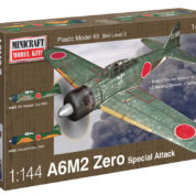 1/144 A6M2 ZERO IJN/IJA MINICRAFT Plastic Model Kit (14691)
