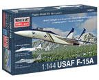 1/144 F-15A/C W/2 MARKINGS MINICRAFT Plastic Model Kit (14693)