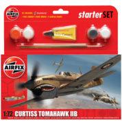 CURTISS TOMAHAWK AIRFIX 55101 Plastic Model Kit