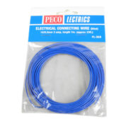 PECO PL38B BLUE 3AMP WIRE 7.5M 16STR
