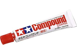 TAMIYA POLISHING COMPOUND COARSE 87068