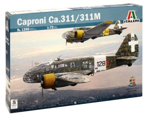 1/72 CAPRONI CA.311 ITALERI Plastic Model Kit (1390)