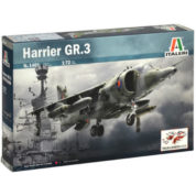 1/72 HARRIER GR.3 KIT ITALERI Plastic Model Kit (1401)