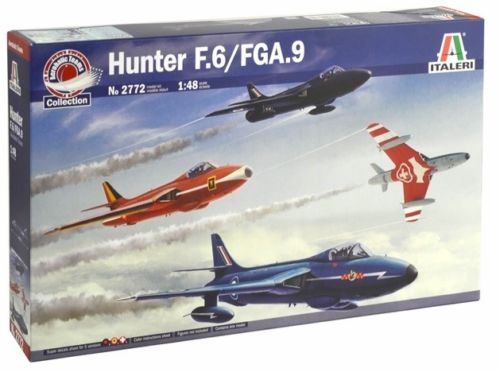 1/48 HAWKER HUNTER KIT ITALERI Plastic Model Kit (2772)