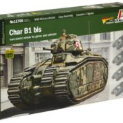 1/56 CHAR B1 BIS KIT ITALERI Plastic Model Kit (15766)