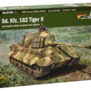 1/56 KING TIGER ITALERI Plastic Model Kit (15765)