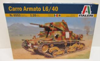 1/35 CARRO ARMATO KIT ITALERI Plastic Model Kit (6553)