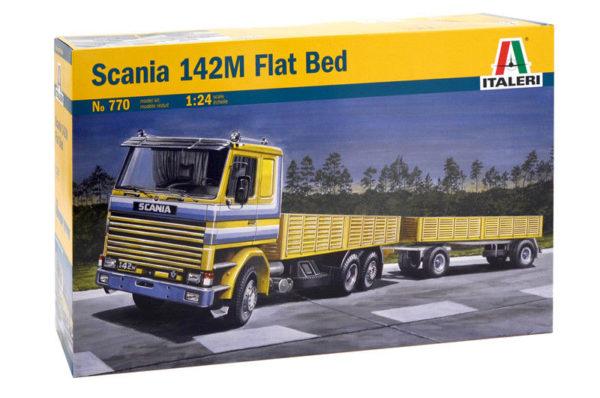 1/24 SCANIA 142M KIT ITALERI Plastic Model Kit (770)