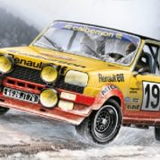 1/24 RENAULT 5 KIT ITALERI Plastic Model Kit (3652)