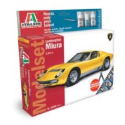 1/24 LAMORGHINI KIT ITALERI Plastic Model Kit (72002)