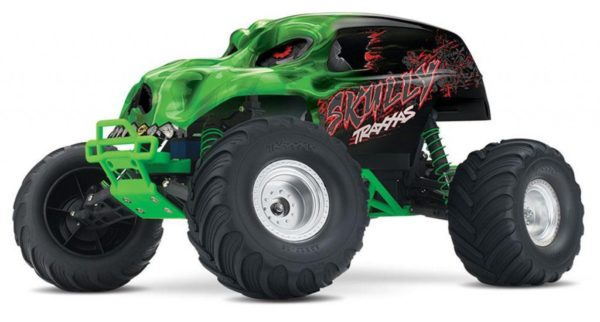 TRAXXAS SKULLY MONSTER TRUCK GREEN RTR 360641