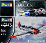 REVELL MODEL SET T-6G TEXAN 1:72 63924