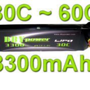DBY 3300MAH 2S 30C LIPO