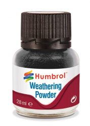 HUMBROL BLACK WEATHERING POWDER AV0001 28ML