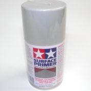 87026   TAMIYA ACRYLIC PAINT SURFACE PRIMER METAL / PLASTIC GRAY