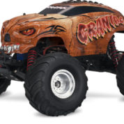 TRAXXAS CRANIAC MONSTER TRUCK BROWN RTR 360941