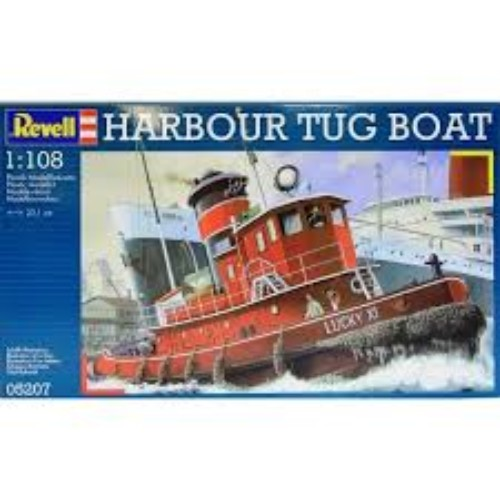 HARBOUR TUG BOAT REVELL 05207 Plastic Model Kit