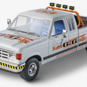 91 F350 DUALLIE REVELL 4376 Plastic Model Kit