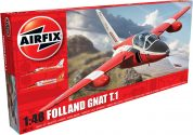 FOLLAND GNAT AIRFIX 05123 Plastic Model Kit
