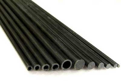 CARBON FIBER TUBE 6X4X1000MM