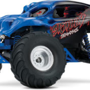 TRAXXAS SKULLY MONSTER TRUCK BLUE RTR 360641
