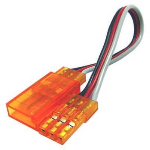 TY1 SERVO EXTENSION LEAD 100MM ORANGE TY405410O 60 STRAND GOLD PIN