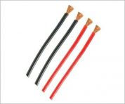 TY1 SILICONE BATT WIRE18G RED/BLACK 1METER TY4068