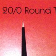 DELTA PAINT BRUSH ROUND 20/0