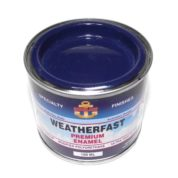 WEATHERFAST ADMIRALTY BLUE PREMIUM MARINE 100ML ULTRA HIGH GLOSS ENAMEL