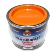 WEATHERFAST AIR SEA ORANGE PREMIUM MARINE 100ML ULTRA HIGH GLOSS ENAMEL