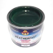 WEATHERFAST VINTAGE GREEN PREMIUM MARINE 100ML ULTRA HIGH GLOSS ENAMEL