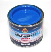 WEATHERFAST BOTANY BLUE PREMIUM MARINE 100ML ULTRA HIGH GLOSS ENAMEL