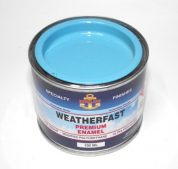 WEATHERFAST REEF BLUE PREMIUM MARINE 100ML ULTRA HIGH GLOSS ENAMEL