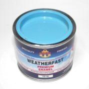 WEATHERFAST REEF BLUE PREMIUM MARINE 100ML ULTRA HIGH GLOSS ENAMEL