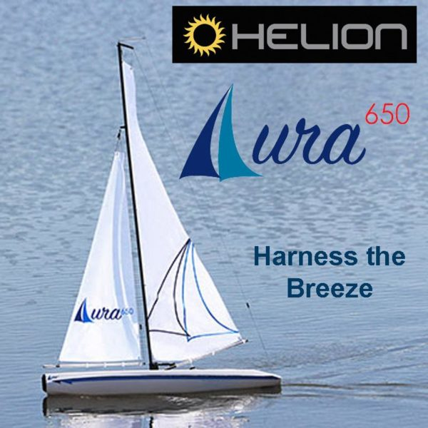 HELION AURA 650 SAIL BOAT READY TO RUN